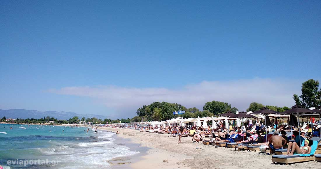 Παραλία Αλυκές Δροσιάς - Χαλκίδα