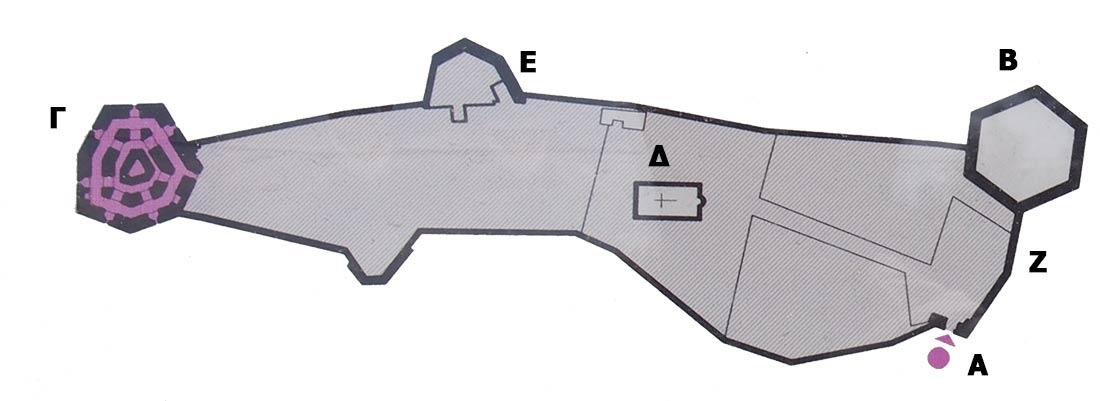 Κάτοψη Φρούριου Καράμπαμπα στη Χαλκίδα