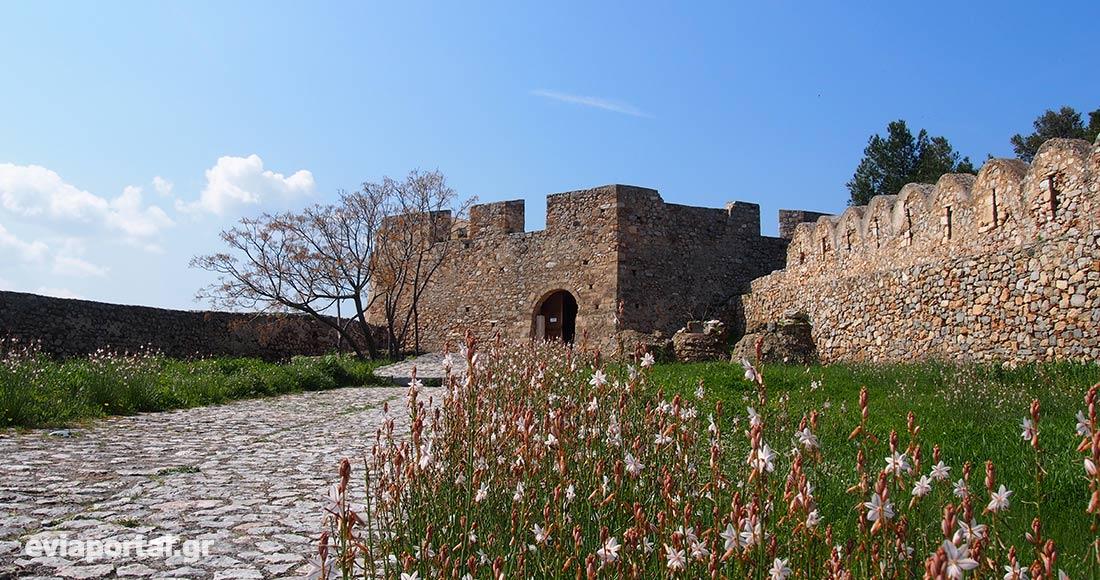 Κάστρο Καράμπαμπα Δυτικός Προμαχώνας