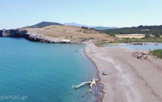 Παραλία Κρύας Βρύσης στη Βόρεια Εύβοια