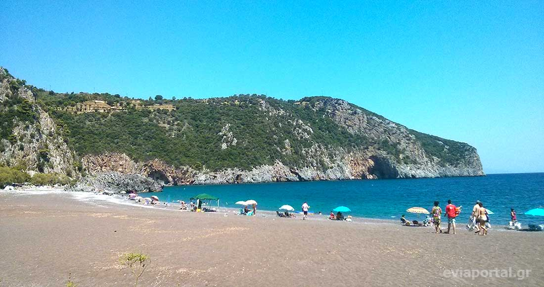 Παραλία Λιμνιώνας Κεντρικής Εύβοιας