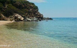 Παραλία Κακολίμανο στους Αγίους Αποστόλους Εύβοιας