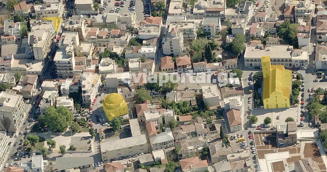 Συνύπαρξη ναών από τρεις διαφορετικές θρησκείες με απόσταση λίγων εκατοντάδων μέτρων στην Χαλκίδα