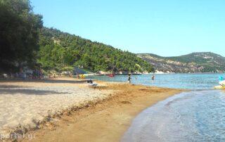Παραλία Σουτσίνι στην Κύμη Εύβοιας