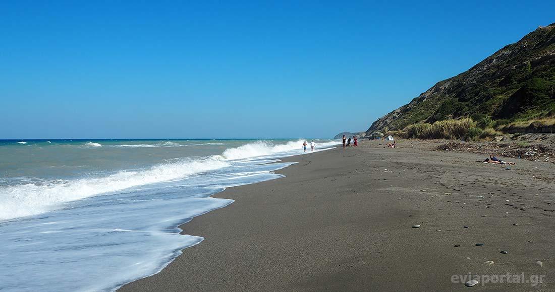 Παραλία Αγίου Γεωργίου Οξυλίθου Εύβοιας