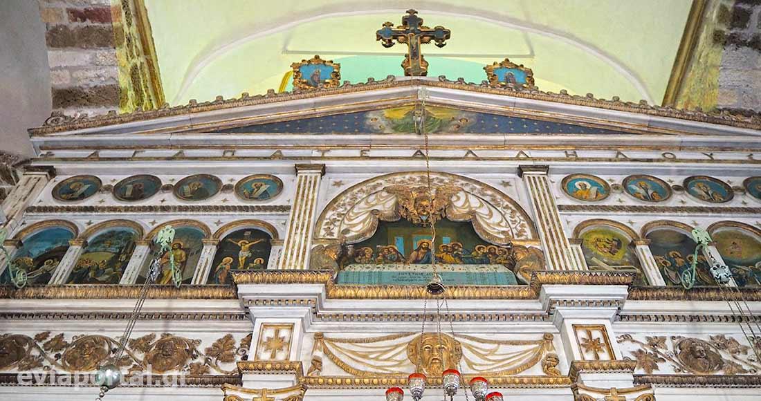 Τέμπλο Παναγίας Λιατσιάνισσας, Κύμη Ευβοίας
