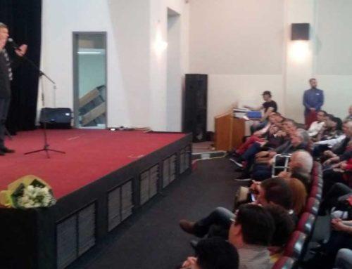 Ο Απόστολος Γκλέτσος πραγματοποίησε ομιλία στην Θήβα