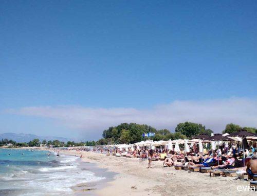 Οι παραλίες με γαλάζια σημαία στην Εύβοια το 2019