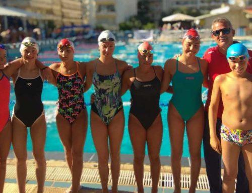 Με 32 μετάλλια επέστρεψαν οι αθλητές και αθλήτριες στην κολύμβηση του Ευβοϊκού ΓΑΣ