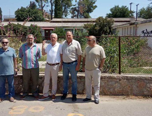 Επίσκεψη Β. Αποστόλου στο ΚΕΓΕ Ν. Αρτάκης και συνάντηση με κατοίκους της περιοχής
