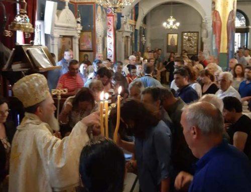 Κυριακή της Πεντηκοστής στο Ιερό Προσκύνημα του Οσίου Ιωάννου του Ρώσσου