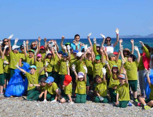 Καθαρισμός ακτών σε Χαλκίδα και Λιχαδονήσια