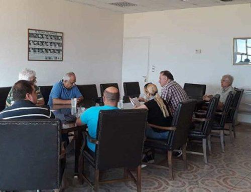 Συνάντηση Πρατσόλη με εργαζόμενους τηςΛΑΡΚΟ