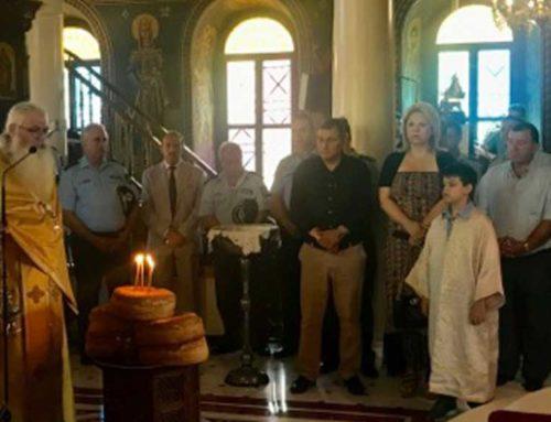 Στον εορτασμό της «Ημέρας τιμής των Αποστράτων της Ελληνικής Αστυνομίας» η Έλενα Βάκα