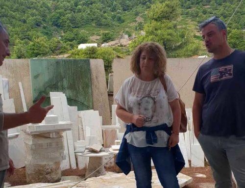 Προσπάθεια στήριξης των εταιρειών επεξεργασίας μαρμάρων από το Επιμελητήριο Εύβοιας