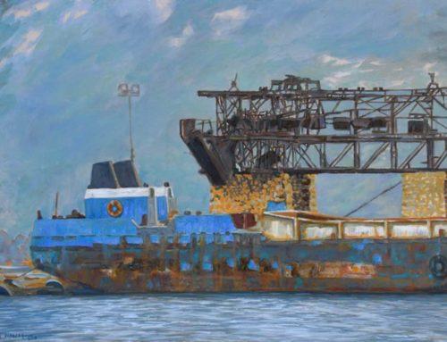 Έκθεση ζωγραφικής της εικαστικού Αικατερίνης Κεράτσα στην Κύμη 🗓