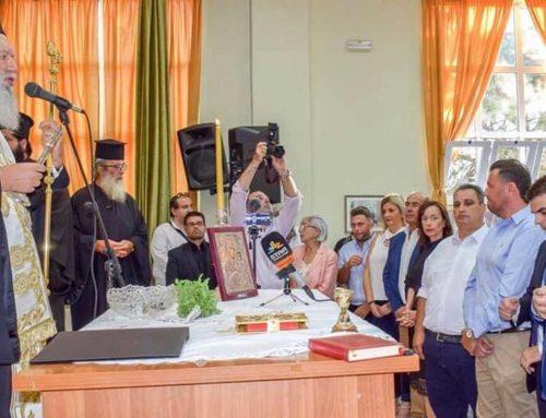 Ορκίστηκε ο νέος δήμαρχος Ιστιαίας Αιδηψού Γιάννης Κοντζιάς