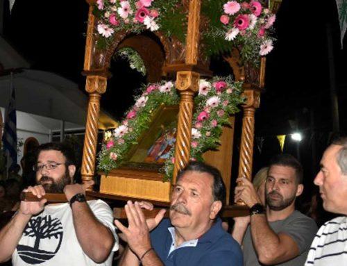 Πλήθος κόσμου στους εορτασμούς του Ιερού Ναού Αγίας Σοφίας στην Ξηρόβρυση