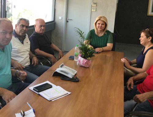 Συνάντηση κατοίκων της Λ. Άμμου με τη Δήμαρχο Χαλκιδέων