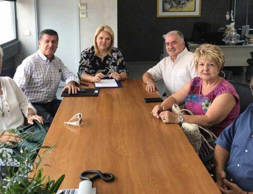 Συνάντηση Δημάρχου Χαλκιδέων με τα μέλη των πολιτιστικών συλλόγων Ευβοίας