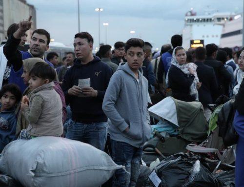 Αστυνομική επιχείρηση της Διεύθυνσης Αστυνομίας Εύβοιας στην δομή φιλοξενίας προσφύγων της Ριτσώνας