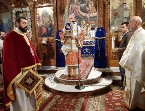 Ο Μητροπολίτης Χαλκίδας στην ενορία Αγίου Νικολάου Ψαχνών