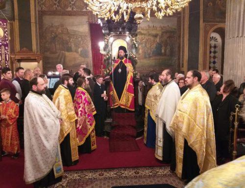 Ο Αρχιγραμματεύς της Ιερά Συνόδου Επίσκοπος Ωρεών Φιλόθεος στην πανήγυρη του Αγίου Νικολάου