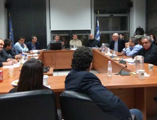 Συνάντηση στην Θήβα πραγματοποιήθηκε, για τον σχεδιαμό διαχείρισης των αστικών αποβλήτων