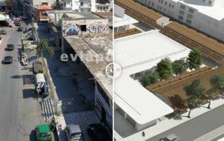 Δημοτική Αγορά Χαλκίδας το πριν και το μετά