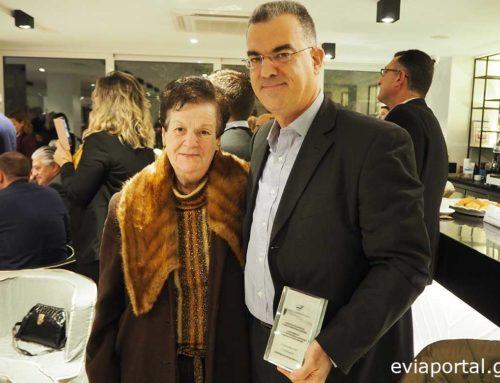 Βραβεύτηκε το ζαχαροπλαστείο Παπαλιόλιος στη Χαλκίδα