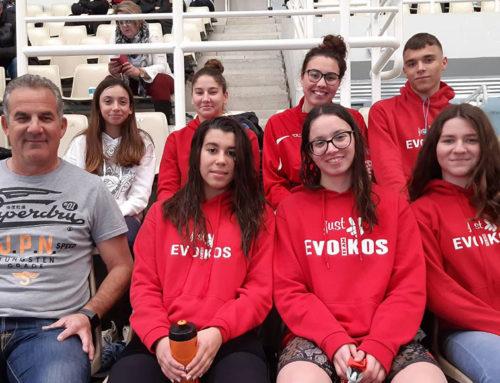 Πολύ καλές επιδόσεις για τους αθλητές/αθλήτριες του Ευβοϊκού ΓΑΣ στους Χειμερινούς Αγώνες Νοτίου Ελλάδος