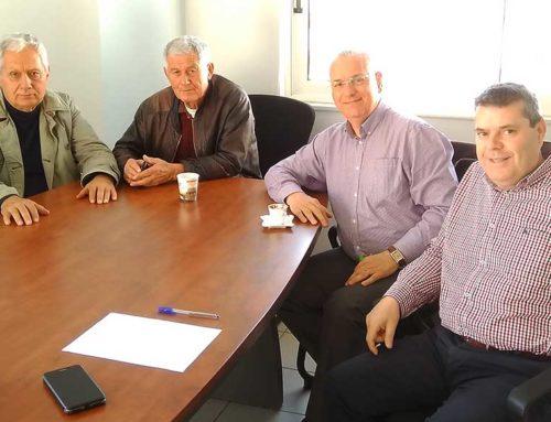 Εποικοδομητική συνάντηση με την ένωση Γεωργικών Συνεταιρισμών Εύβοιας είχε ο Κώστας Μαρκόπουλος