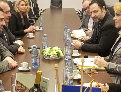 Συνεχίζει τις επαφές του στην Ρουμανία ο Περιφερειάρχης Στερεάς Ελλάδας Φάνης Σπανός