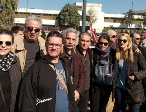 Συμμετοχή της «Στερεά Υπεροχής!» στη συγκέντρωση διαμαρτυρίας στην Χαλκίδα
