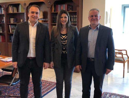 Στο Υπουργείο Παιδείας ο Θ. Ζεμπίλης και ο Δήμαρχος Ιστιαίας-Αιδηψού Γ. Κοντζιάς