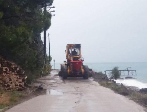 Προσωρινή απαγόρευση κυκλοφορίας σε δρόμους της Εύβοιας
