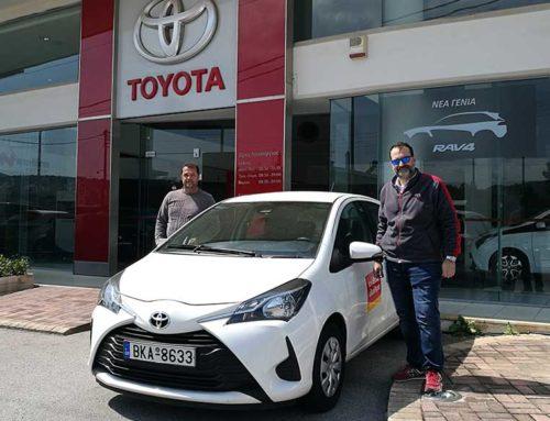 Ο Δήμος Κύμης Αλιβερίου παρέλαβε νέο αυτοκίνητο για την Βοήθεια στο σπίτι