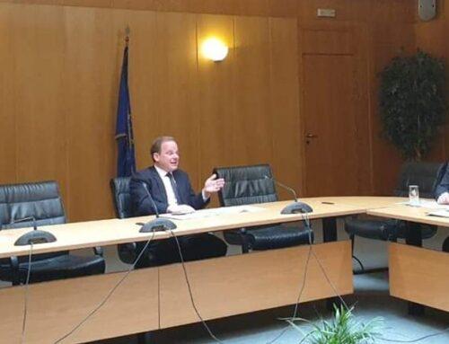 Με τον υπουργό υποδομών συναντήθηκε ο Φάνης Σπανός