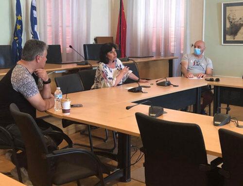 Ενημερωτικές συναντήσεις με προπονητές στίβου και καθηγητές του Δημοτικού Ωδείου «Ν.Σκαλκώτα»