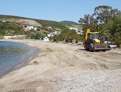 Σε καθαρισμό των παραλιών προχώρησε ο Δήμος Σκύρου