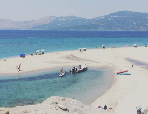 Παραλία από την Εύβοια στο spot του Υπουργείου Τουρισμού