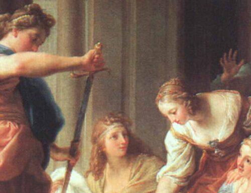 Ο Αχιλλέας στην αυλή του Λυκομήδη, βασιλιά της Σκύρου