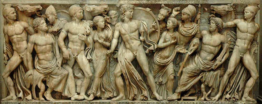 Ο Αχιλλέας στο παλάτι του Λυκομήδη