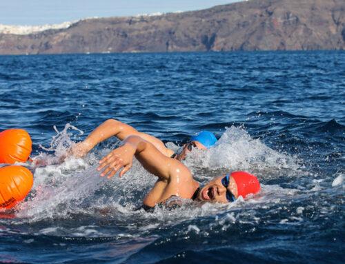 Οι κορυφαίοι Petar Stoychev και Yasunari Hirai στον Αυθεντικό Μαραθώνιο Κολύμβησης στο Αρτεμίσιο