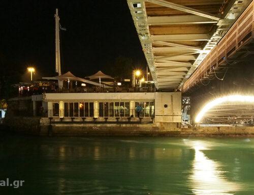 Εργασίες συντήρησης στην γέφυρα του Πορθμού του Ευρίπου