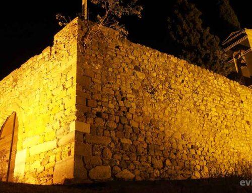 Πανσέληνος στο Κάστρο του Καράμπαμπα στην Χαλκίδα
