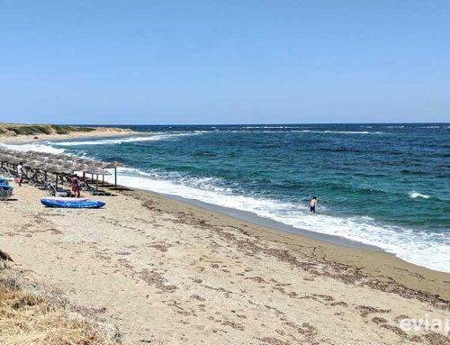 Παραλία Γυρίσματα στη Σκύρο