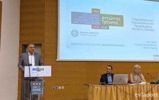 Ο Τάκης Θεοδωρικάκος στη Χαλκίδα για το πρόγραμμα Αντώνης Τρίτσης