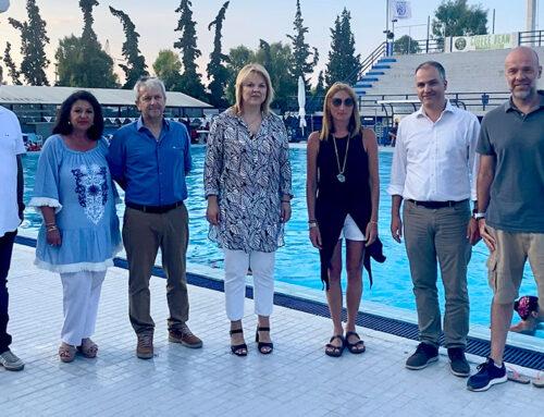 Παρουσίαση των εργασιών ανακαίνισης στο Δημοτικό Κολυμβητήριο Χαλκίδας από τον Δήμο Χαλκιδέων