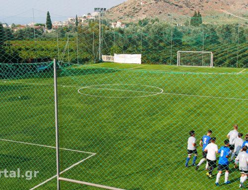 Η ακαδημία ποδοσφαίρου Αθλόπολις εγκατέστησε νέο τάπητα νεότερης γενιάς